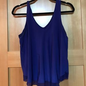Two tiered tank top